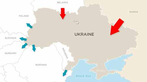 Ukraina tevi de gaze
