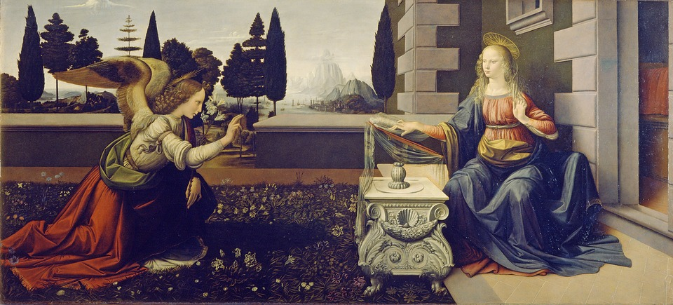 Buna Vestire - Leonardo da Vinci