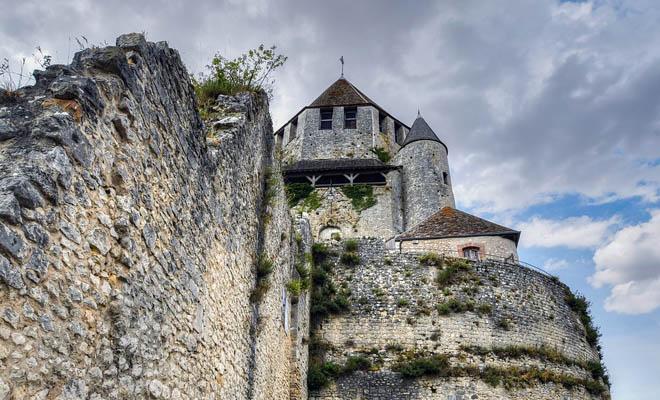 Cetate in Provins, Franta, Patrimoniul Mondial UNESCO
